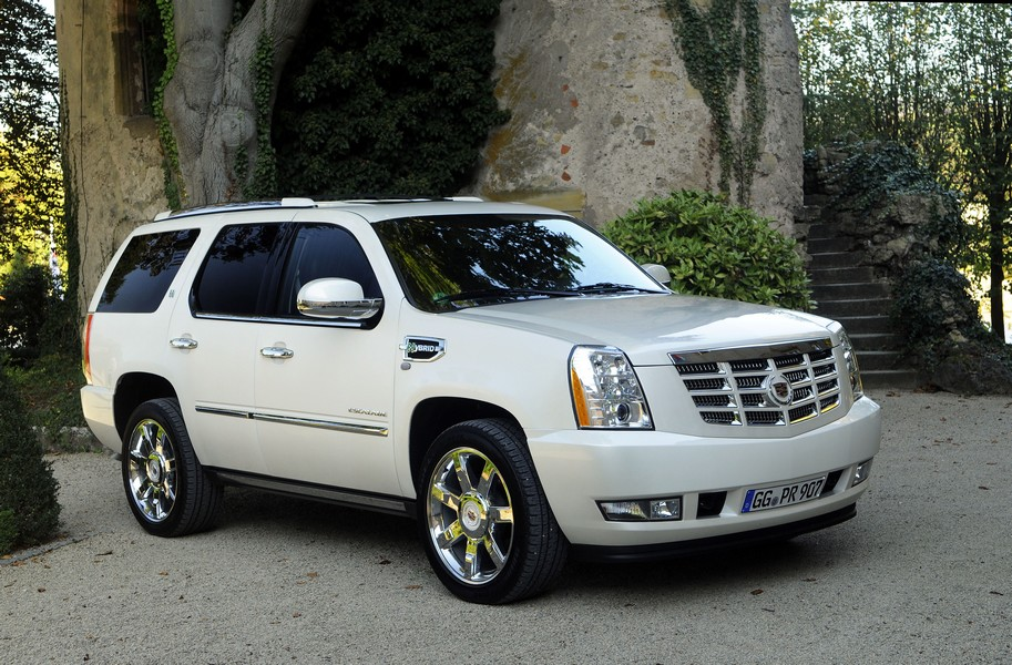 cadillac escalade hybrid galerie photos. Black Bedroom Furniture Sets. Home Design Ideas
