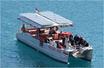 Le bateau-bus �lectrique de Monaco vogue sur le succ�s - Photo 1
