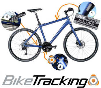 Bike Tracking - une