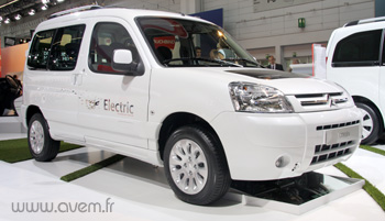 Francfort 2009 - Citroën Berlingo First électrique by Venturi - Photo 1