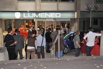 lumeneo ouvre son premier showroom paris. Black Bedroom Furniture Sets. Home Design Ideas