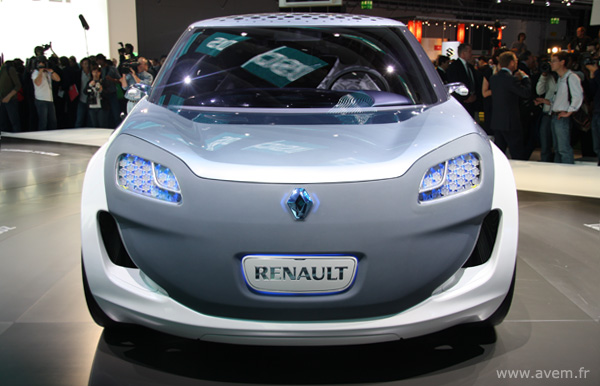 2009 Renault Zoe Ze Concept. Francfort 2009 - Renault Zoe