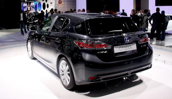 mondial 2010 la voiture hybride lexus ct200h annonc e moins de. Black Bedroom Furniture Sets. Home Design Ideas