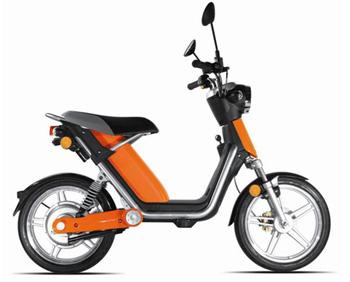 matra pr sente une nouvelle version du scooter lectrique e mo. Black Bedroom Furniture Sets. Home Design Ideas