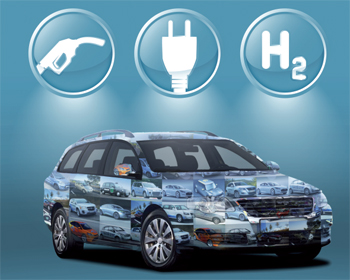 Etude - Une multitude de technologies pour le v�hicule d�carbon� en Europe - Photo 1