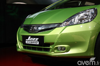 Mondial 2010 - Honda Jazz hybride - Photo 1