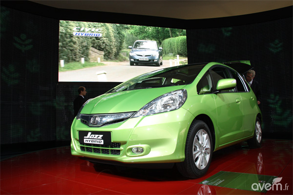 Mondial 2010 - Honda Jazz hybride - Photo 2