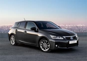 voiture hybride la lexus ct 200h annonce 96 g co2 km. Black Bedroom Furniture Sets. Home Design Ideas