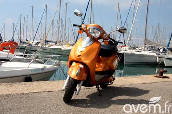 Scooter électrique à batteries amovibles CleanScoot CS 1500 – Présentation et essai - Photo 1