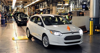 Ford lance la production de la Focus �lectrique - Photo 1
