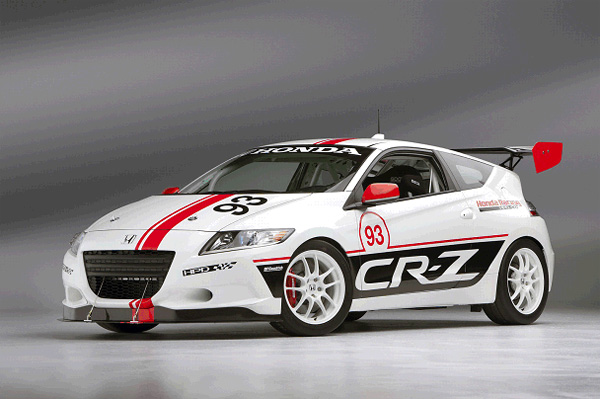 sportive hybride le honda cr z racer aux 24 heures du mans. Black Bedroom Furniture Sets. Home Design Ideas