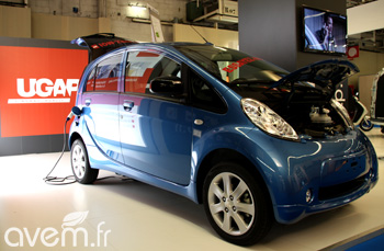 La Peugeot iOn a remport� le march� UGAP dans la cat�gorie v�hicule de soci�t� deux places
