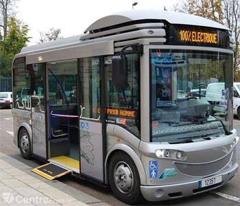 la ville de rambouillet s 39 quipe de deux bus lectriques gruau microbus. Black Bedroom Furniture Sets. Home Design Ideas