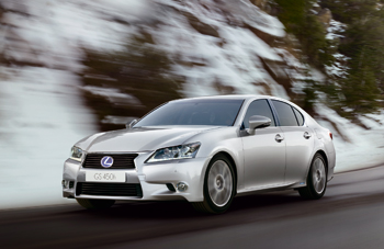 Lexus lance la commercialisation de la nouvelle GS 450h - Photo 1