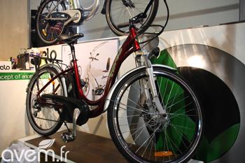 Les vélos électriques Inovelo d'Hilltecks au Salon des Maires - Photo 1