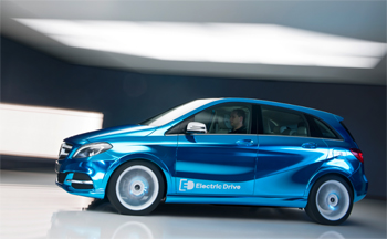 Mercedes dévoilera à Paris le nouveau concept de la Classe B Electric Drive - Photo 1