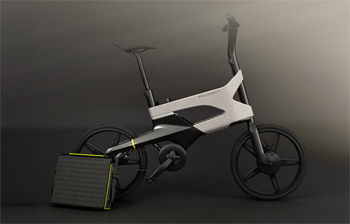 v lo lectrique peugeot d voile le concept edl122 eurobike. Black Bedroom Furniture Sets. Home Design Ideas