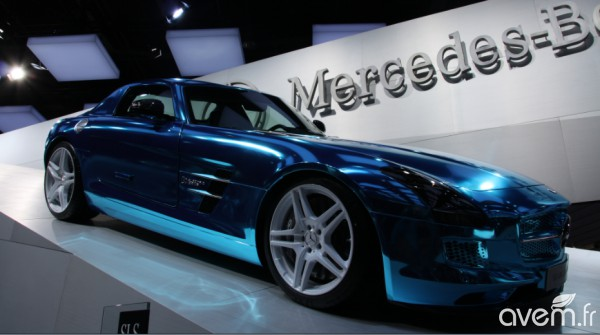 Mercedes SLS AMG Coupé Electric Drive – La supersportive électrique du Mondial - Photo 3