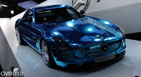 Mercedes SLS AMG Coupé Electric Drive – La supersportive électrique du Mondial - Photo 4