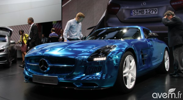 Mercedes SLS AMG Coupé Electric Drive – La supersportive électrique du Mondial - Photo 5