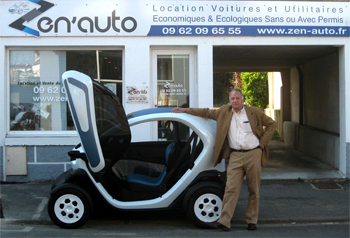 la renault twizy en location dans le r seau zen lib. Black Bedroom Furniture Sets. Home Design Ideas
