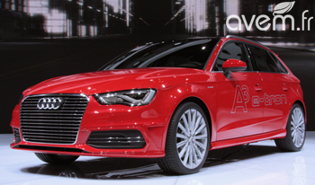 L'Audi A3 Sportback e-tron en direct de Genève - Photo 1