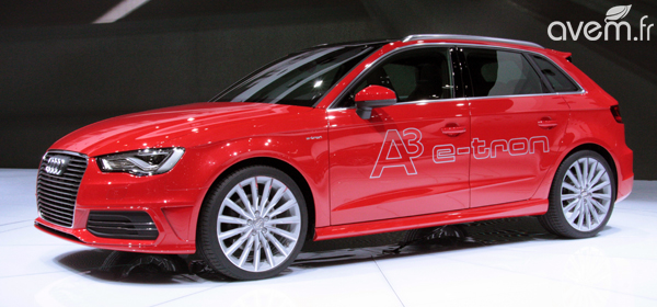 L'Audi A3 Sportback e-tron en direct de Genève - Photo 2