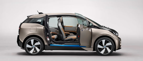 voiture lectrique la bmw i3 officiellement r v l e. Black Bedroom Furniture Sets. Home Design Ideas
