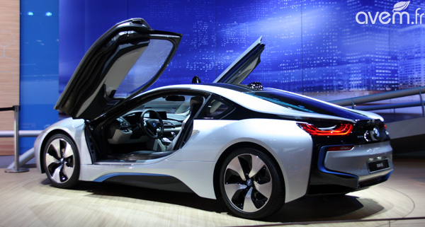 bmw i8 la sportive hybride nouvelle g n ration francfort. Black Bedroom Furniture Sets. Home Design Ideas