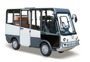 mobilit pr sentera son mini bus lectrique geco au salon des maires. Black Bedroom Furniture Sets. Home Design Ideas