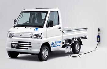 utilitaire lectrique mitsubishi lance le minicab miev truck au japon. Black Bedroom Furniture Sets. Home Design Ideas