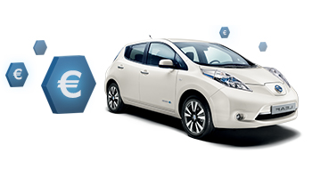 nouvelle nissan leaf une offre partir de 149 ttc. Black Bedroom Furniture Sets. Home Design Ideas