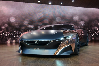 La supercar hybride Peugeot Onyx récompensée lors des Louis Vuitton Classic Awards - Photo 1
