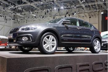 voiture hybride le qoros 3 cross hybrid en premi re mondiale gen ve. Black Bedroom Furniture Sets. Home Design Ideas