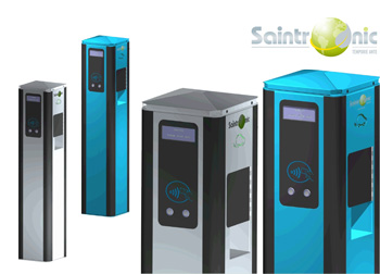 Saintronic obtient la certification Z.E Ready pour ses bornes de recharge - Photo 1