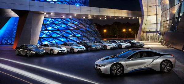 bmw i8 premi res livraisons en allemagne. Black Bedroom Furniture Sets. Home Design Ideas