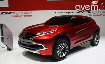 Le Concept XR-PHEV préfigure la prochaine génération d'ASX
