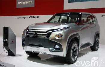 Mitsubishi GC-PHEV au salon de Genève 2014
