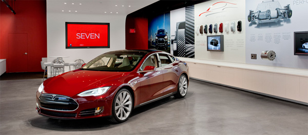 tesla inaugure un nouveau showroom aix en provence. Black Bedroom Furniture Sets. Home Design Ideas
