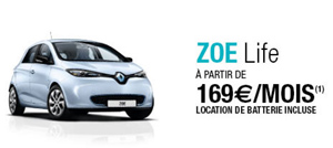 renault zo une offre de location longue dur e 169 mois batterie incluse. Black Bedroom Furniture Sets. Home Design Ideas