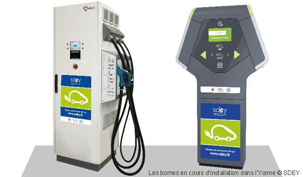 Borne De Recharge >> Les Bornes De Recharge S Installent Dans L Yonne