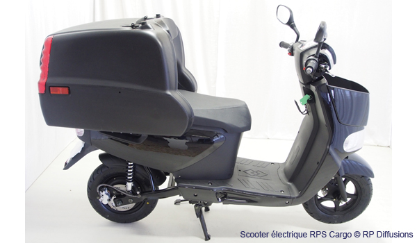 rps cargo un scooter lectrique con u pour la livraison. Black Bedroom Furniture Sets. Home Design Ideas