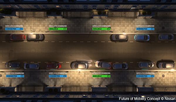 Nissan présente son projet pour la station service du