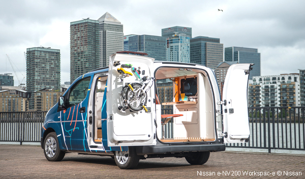 Nissan E Nv200 Workspac E Le Bureau Mobile Lectrique