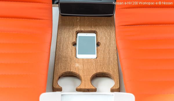 Nissan e-NV200 Workspac-e : Le bureau mobile électrique