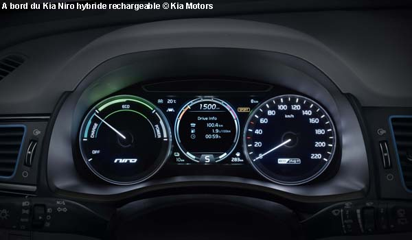 Lancement Du Crossover Kia Niro Hybride Rechargeable