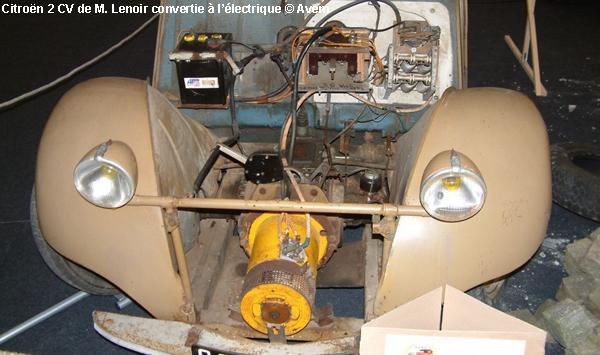 Kit conversion voiture électrique