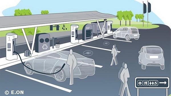 Shell propose ses bornes de recharge électrique à plusieurs constructeurs