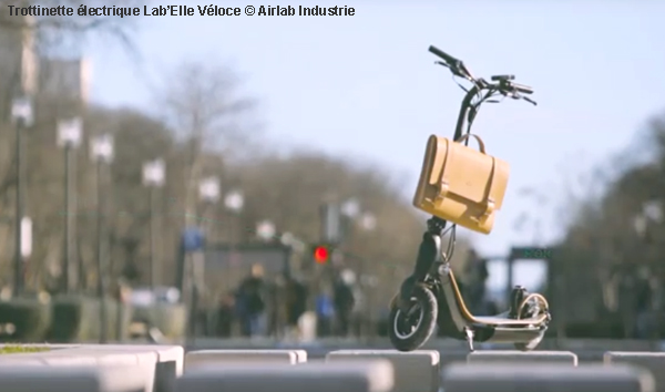 Airlab industrie lance sa trottinette électrique Lab Elle Véloce 276026363d4f