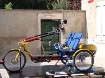 Draisin - Twister 2 places latérales